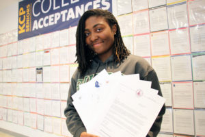 AlexisShaifer KCP College Acceptance