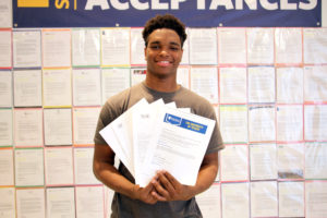 DAnthonyHedgespeth KCP College Acceptance