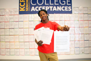 DavonCarter KCP College Acceptance