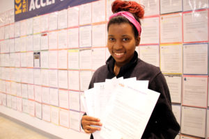 KaylaFludd KCP College Acceptance