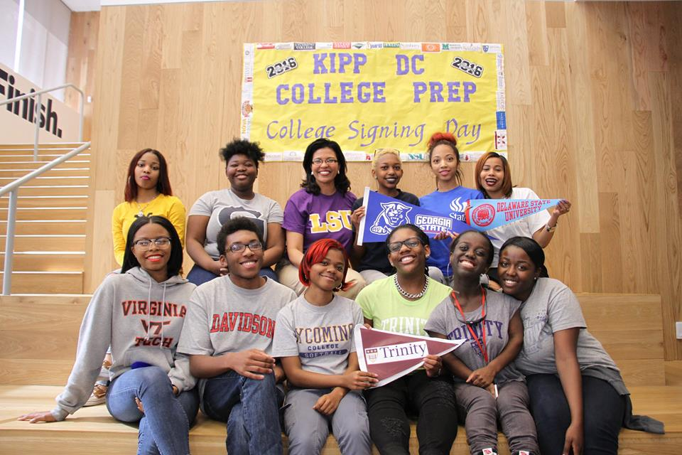 College Signing Day 2016