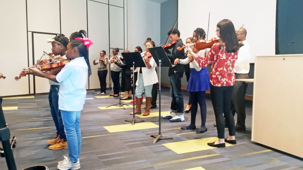 KEY academy Violinists