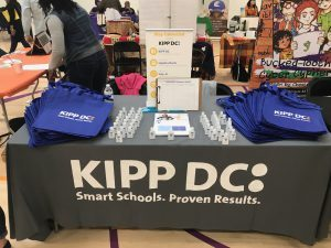 East of the River Book Festival KIPP DC table