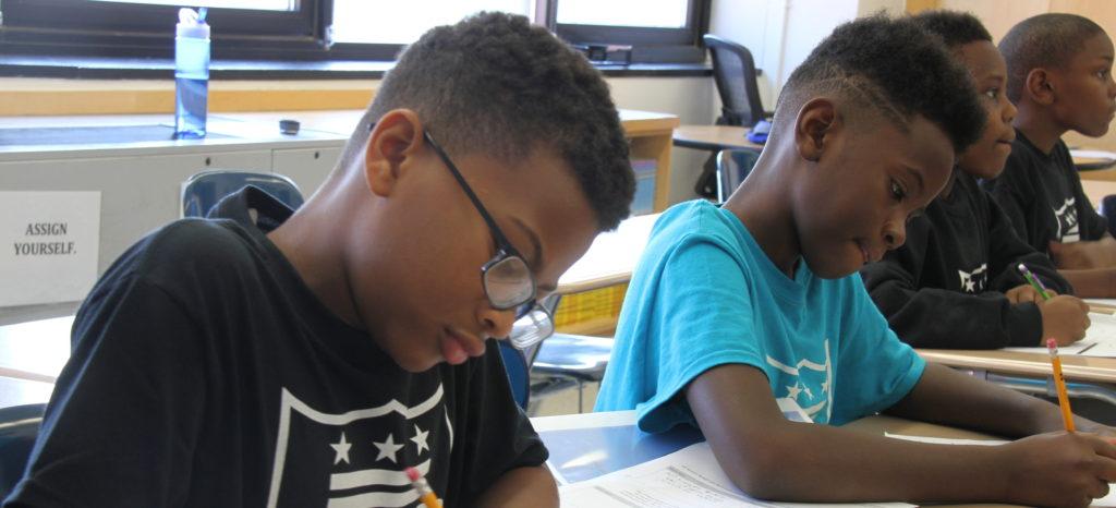 KIPP DC Valor Academy students