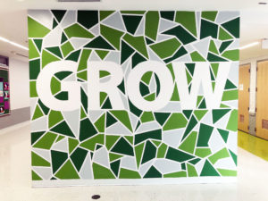 GROW Mural - MLK Day of Service @ Shaw
