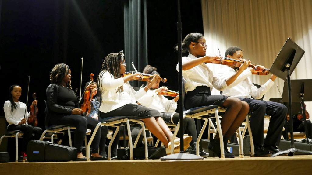 KIPP DC Orchestra and Young Orchestra of Americas