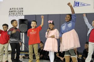 Black History month at KIPP DC students