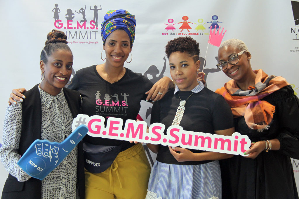 KIPP DC G.E.M.S. Summit - group of women