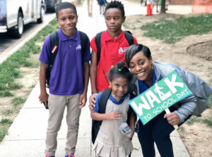KIPP DC Walk to School Day